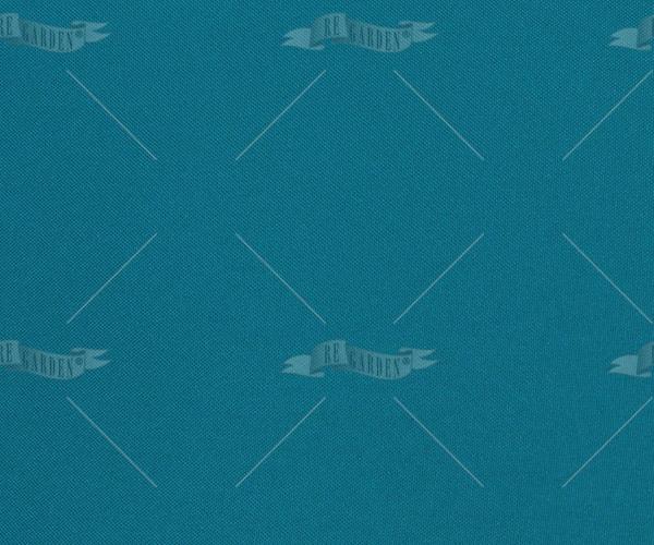 Pillow rettangolare Blu Pavone - 2